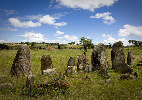 Ethiopia's Middle Age Monoliths at Tiya